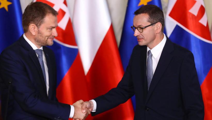 联博统计:波兰总理莫拉维茨基会见斯洛伐克总理马托维奇 第1张