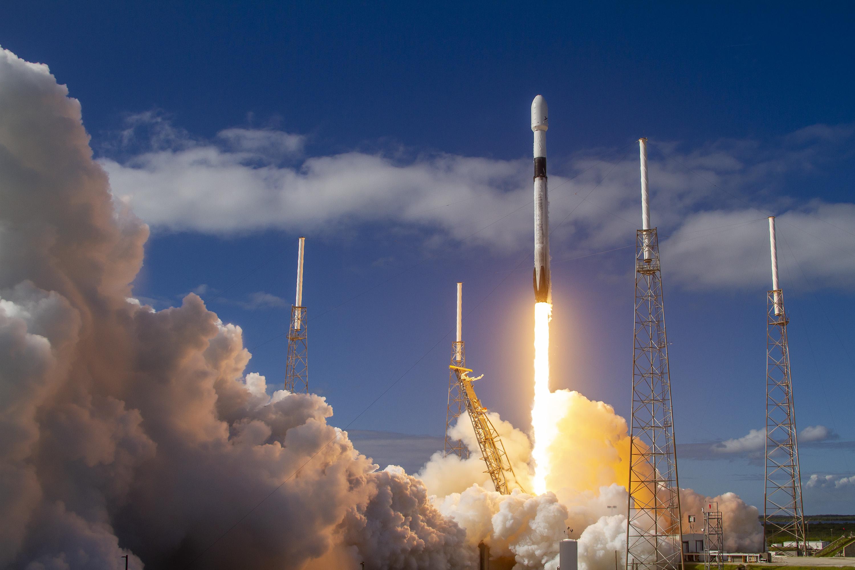 """消息:SpaceX""""双11""""用四手火箭一箭发射60颗""""星链"""""""