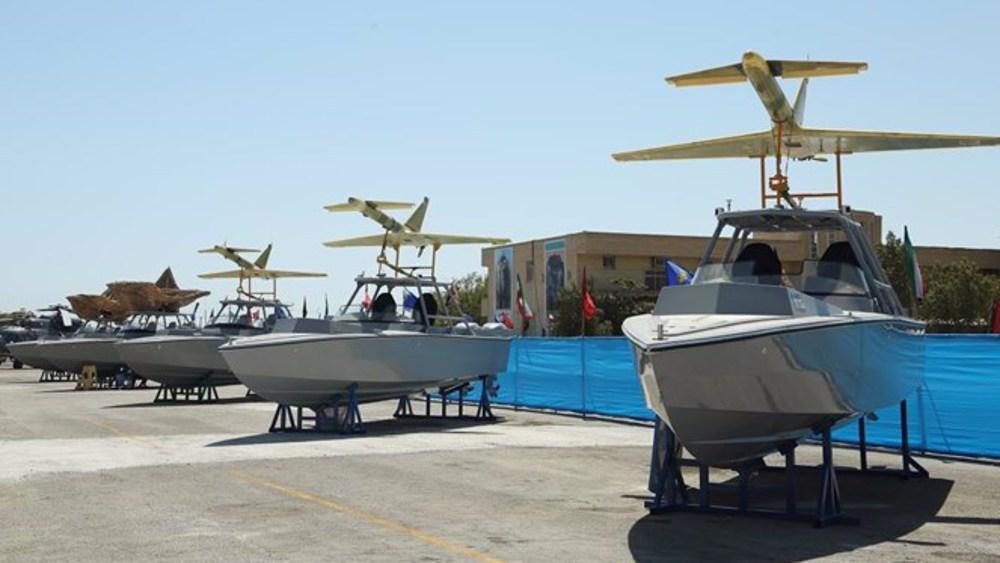 画面高清!伊朗用国产无人机拍下美军航母(图) 第7张