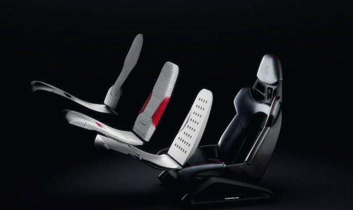 保时捷推出3D打印手艺全桶式座椅将于2021年量产