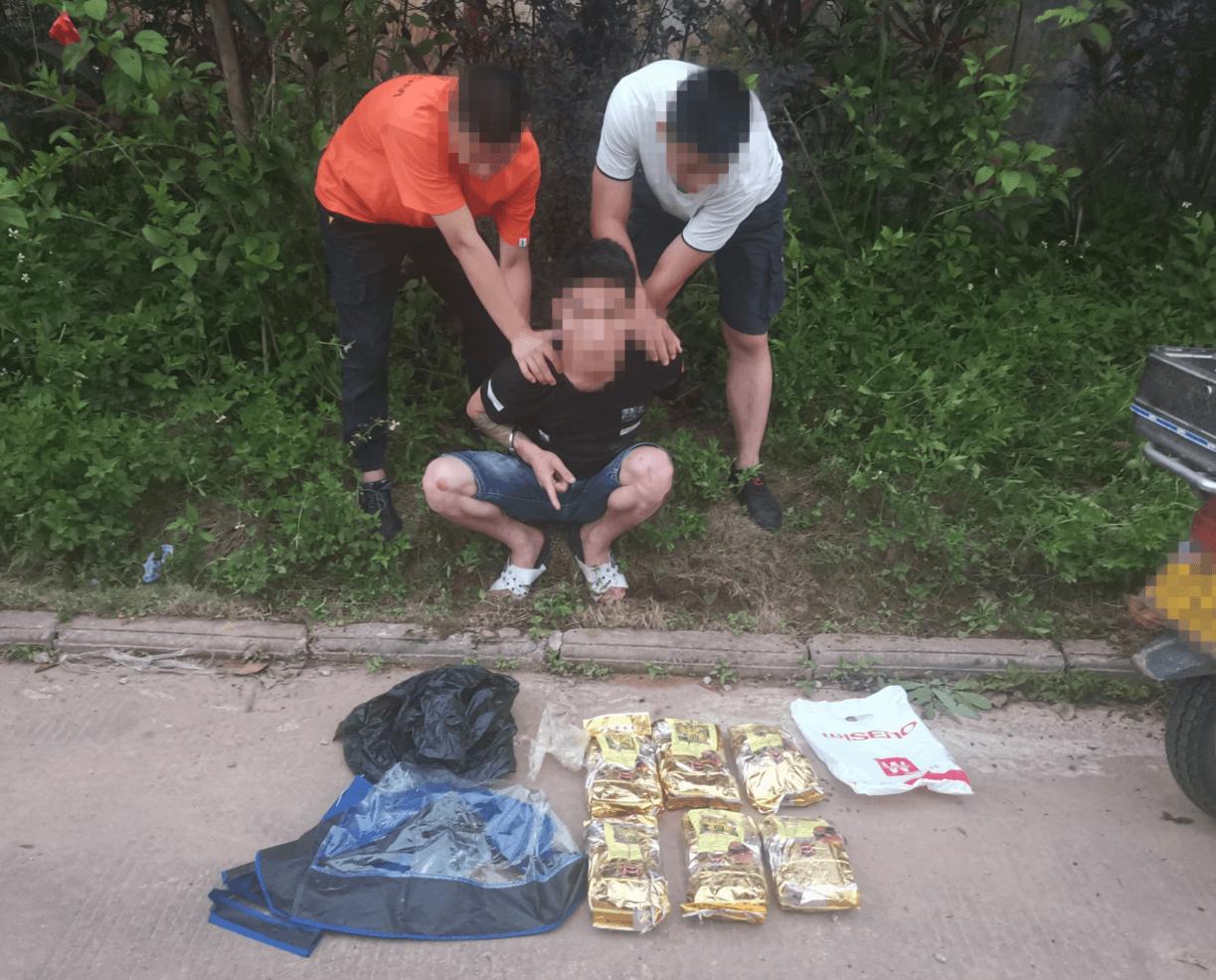茶叶袋内藏冰毒5.94公斤边境民警破获特大运输毒品案