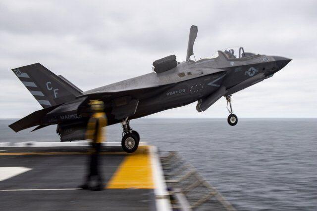 韩国为其未来航母物色舰载机最可能型号是F-35B