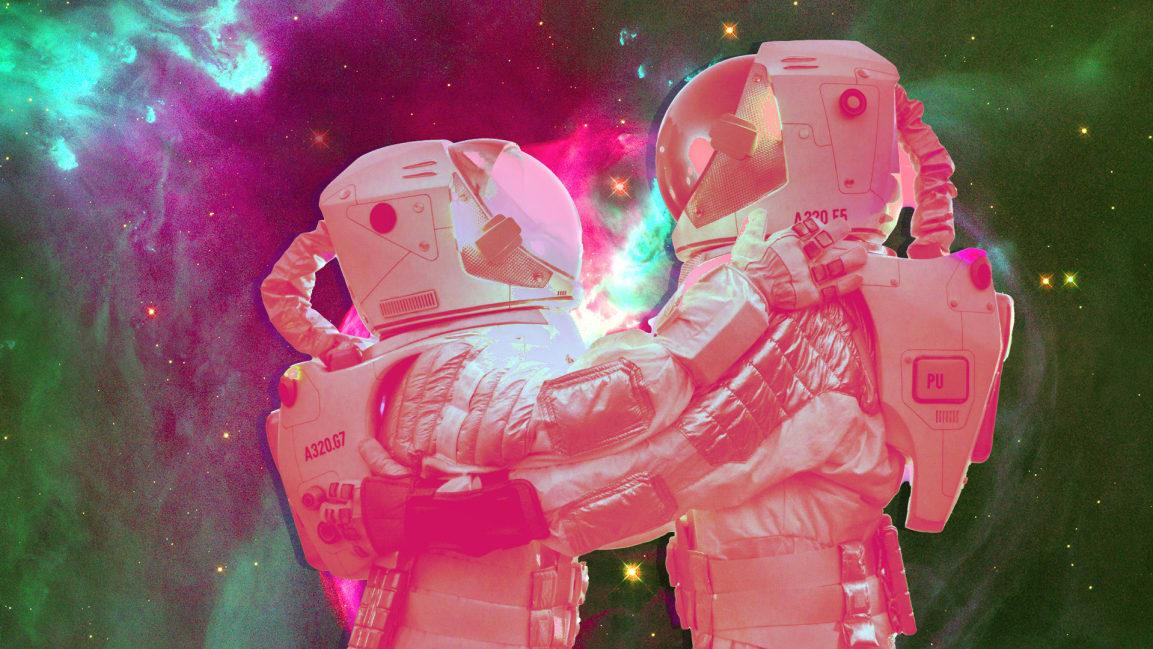 太空中想亲热怎么办?或许性爱技术能给出答案