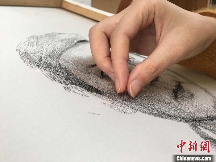 温州发绣:头发也可以是艺术品