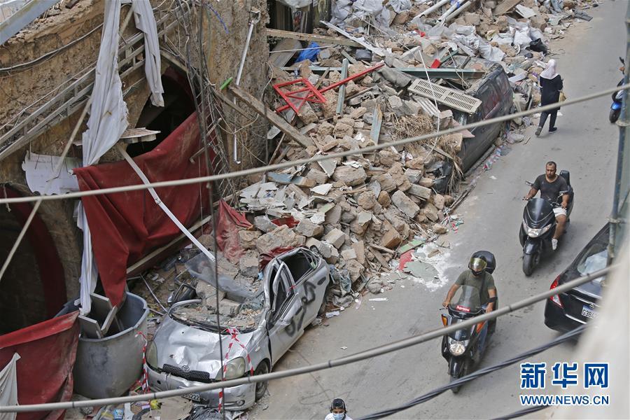 大爆炸令黎巴嫩经济雪上加霜