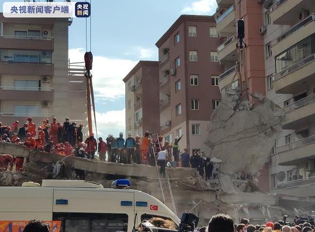 爱琴海强震后续 土耳其罹难人数升至116人