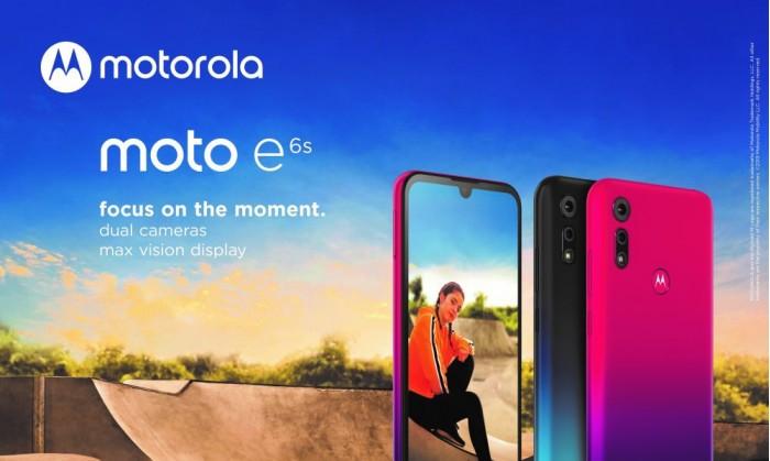 MotoE6s发布:6.1英寸水滴屏+2GB内存+1300万双摄 定位中低端市场