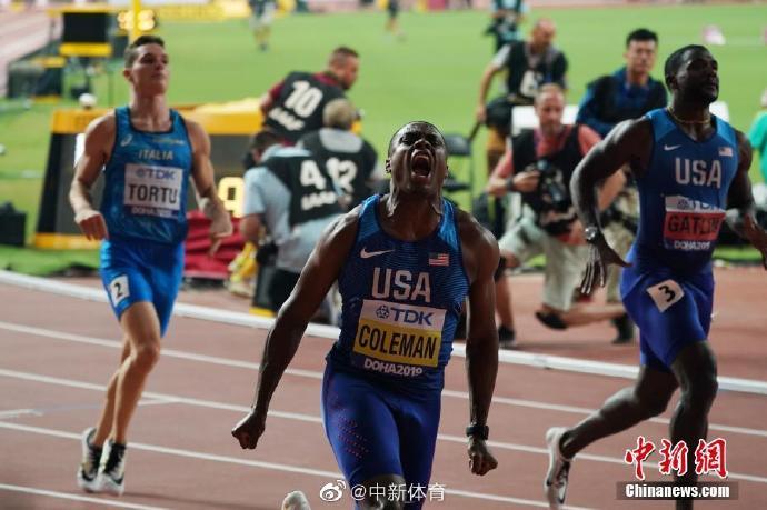 美国飞人科尔曼因错过兴奋剂检查被禁赛2年,将无缘东京奥运 第1张