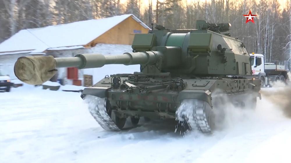 俄罗斯造出世界最快自行火炮每分钟能打16发炮弹