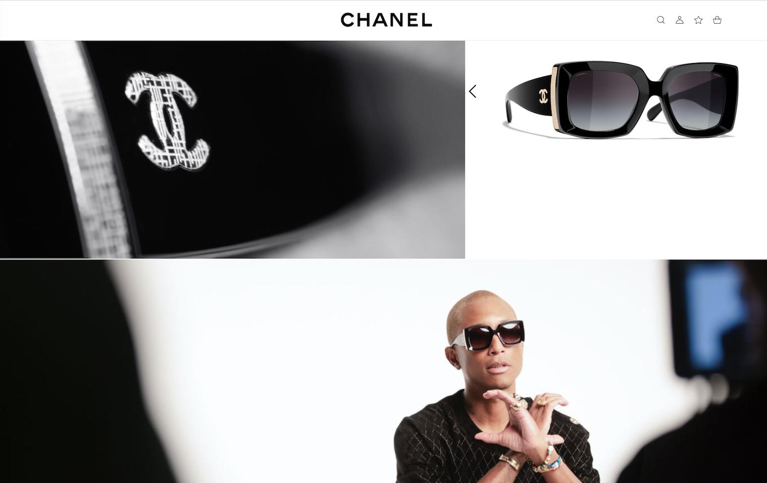 Chanel进一步扩大官网的眼镜电商业务