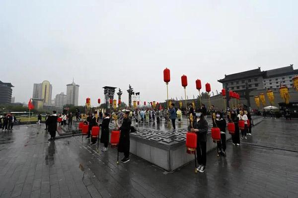 精彩提前看 揭秘丝绸之路国际电影节迎宾仪式