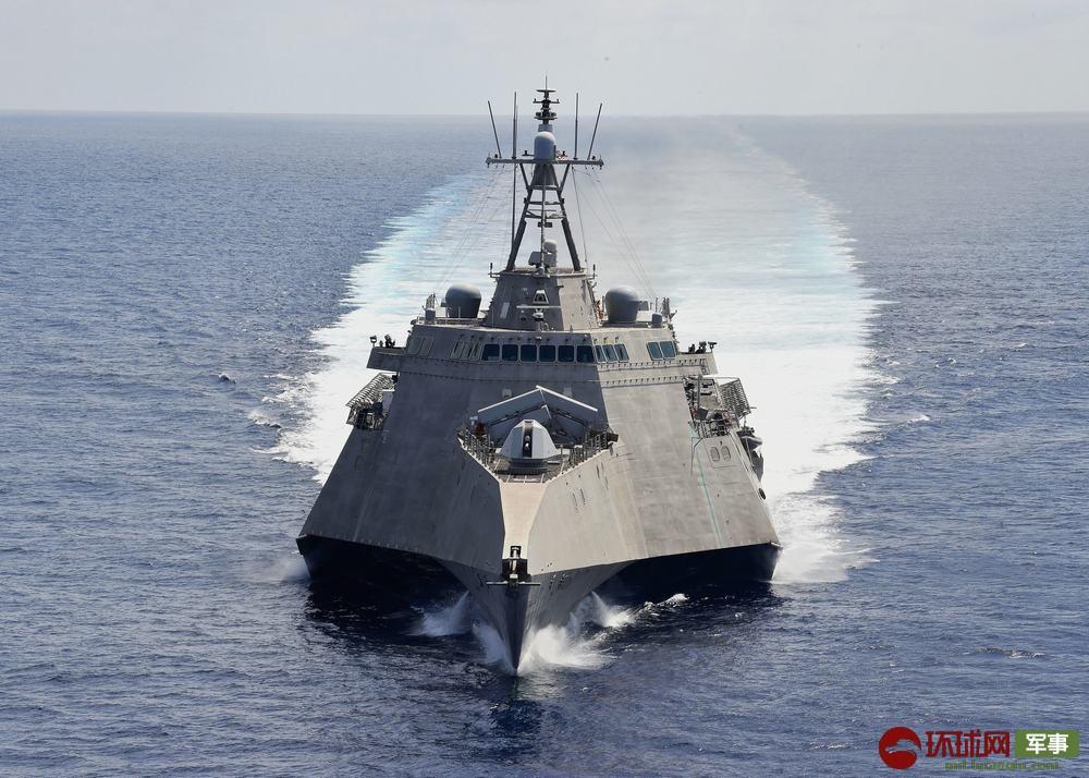 美国舰机频繁现身南海又派这艘濒海战斗舰来捣乱
