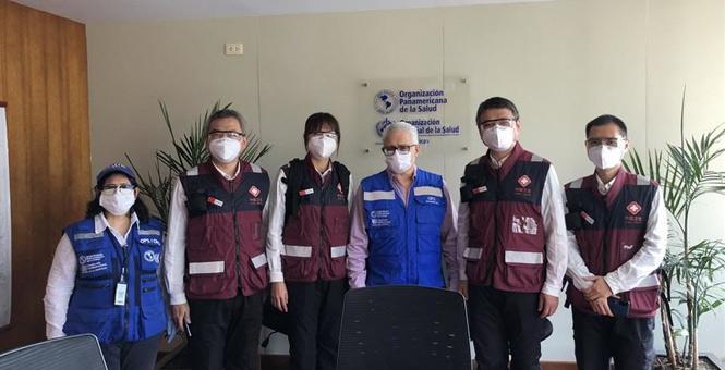 中国抗疫医疗专家组在秘鲁开展交流