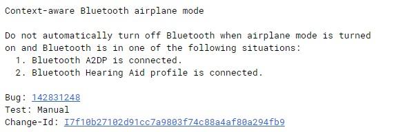 """谷歌Android11新特性:涉及到一个新的""""情境感知蓝牙飞行模式"""" 打开飞行模式蓝牙耳机不断连"""