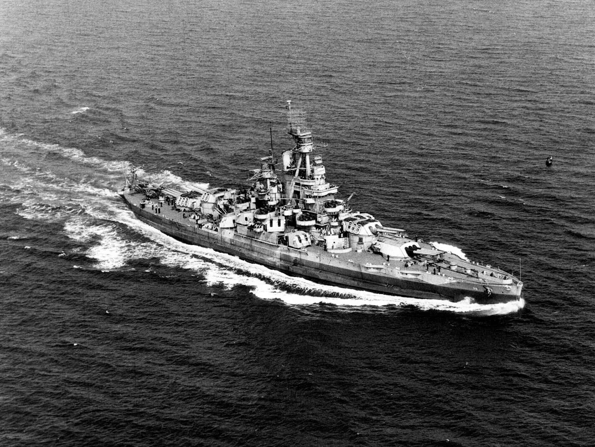 经历两次世界大战、两次核爆炸!这艘传奇战舰终于在海底被找到