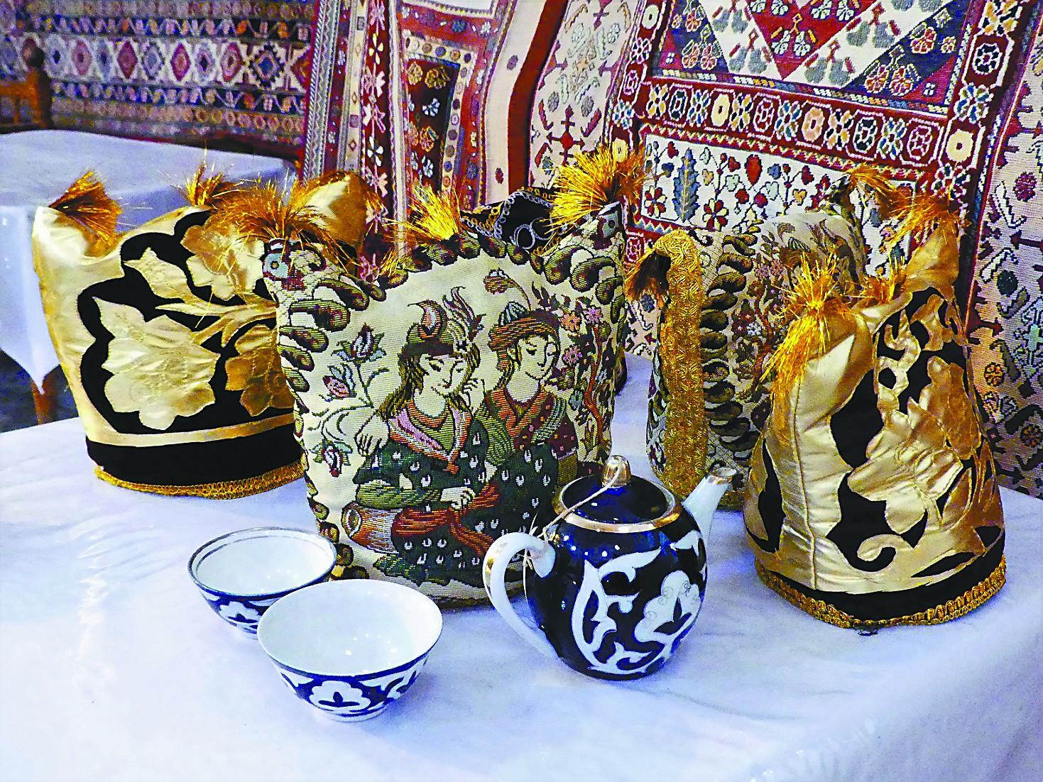 """""""先干为敬""""在乌兹别克斯坦体验茶道"""