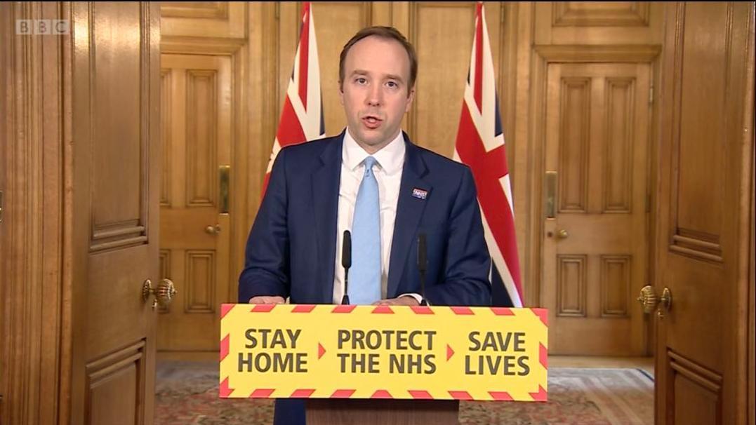 英国政府承诺大幅提高检测数量 月底达每日10万个