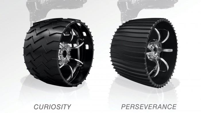 """更有彈性 NASA""""記憶金屬""""輪胎或能給火星探測車輪子帶來重大升級"""
