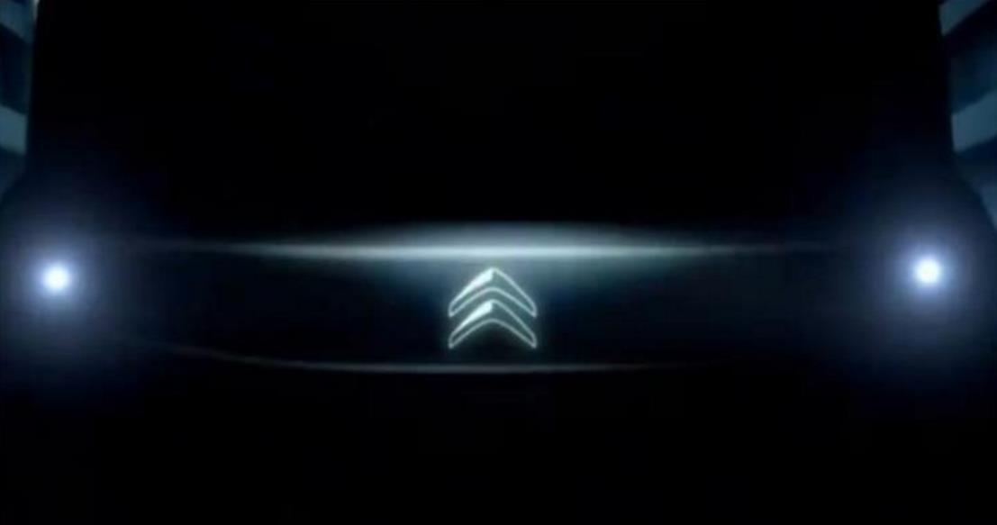 雪铁龙发布首款纯电动车预告图新车本月底亮相