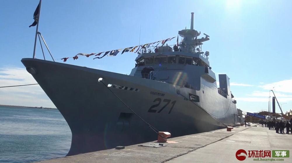 巴基斯坦巨资引进欧洲巡逻舰交付时却连舰炮都没有