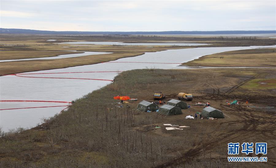 俄罗斯诺里尔斯克发生柴油泄漏事故 普京批准该市进入联邦紧急状态