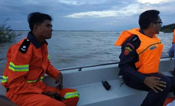 皇冠注册:缅甸伊洛瓦底江一船只倾覆 2人失踪