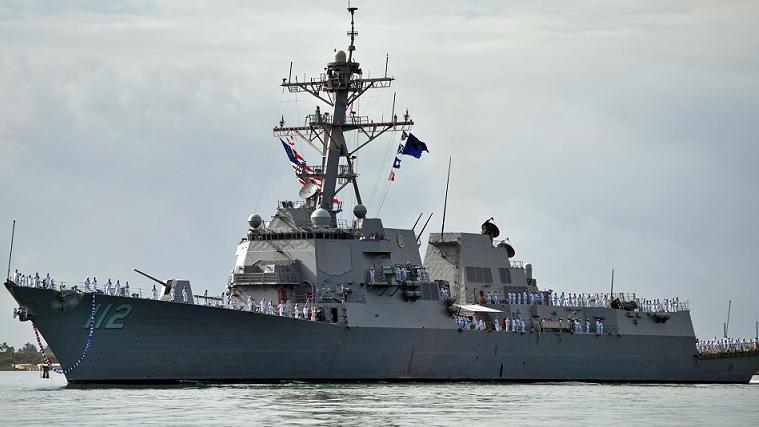 美军军舰暴发大规模新冠疫情 300名舰上海员近四分之一受波及