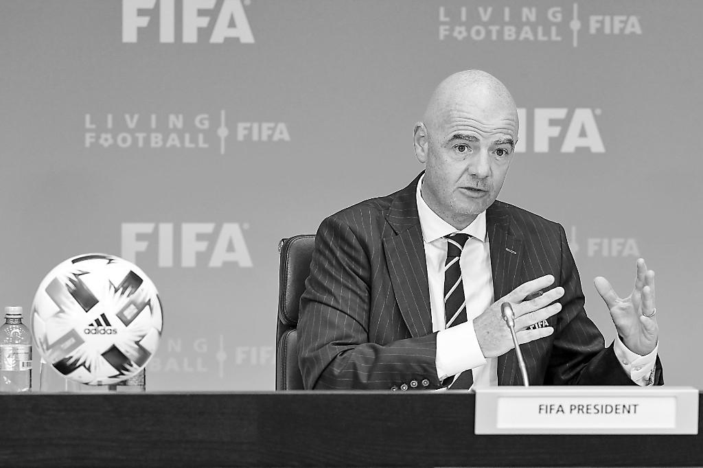 "FIFA主席被起诉系""阴谋""?"