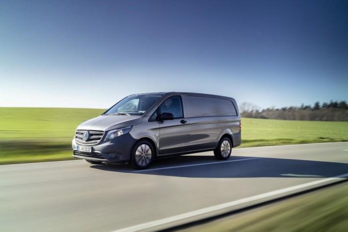 做了很大的更新 梅赛德斯-奔驰发布全新厢式车Vito和eVito:面向欧洲市场