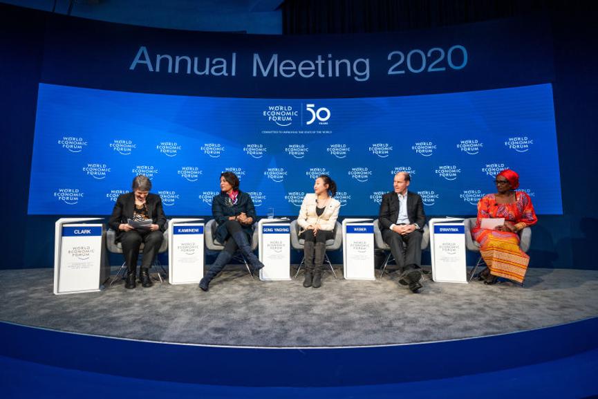 凝聚全球力量,实现可持续发展 医渡云董事长宫如璟出席2020世界经济论坛建言医疗未来