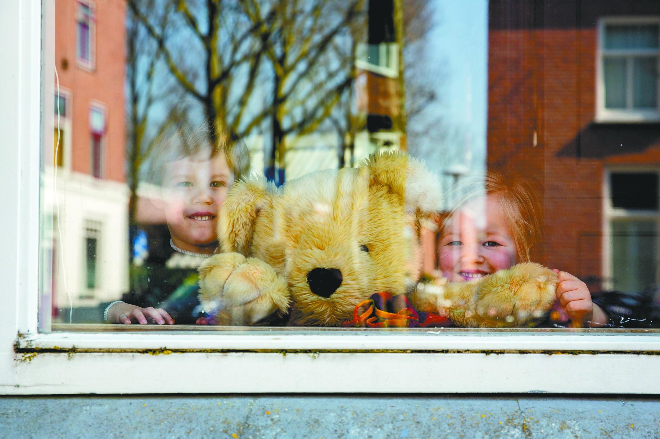 荷兰人家的窗户等你去张望