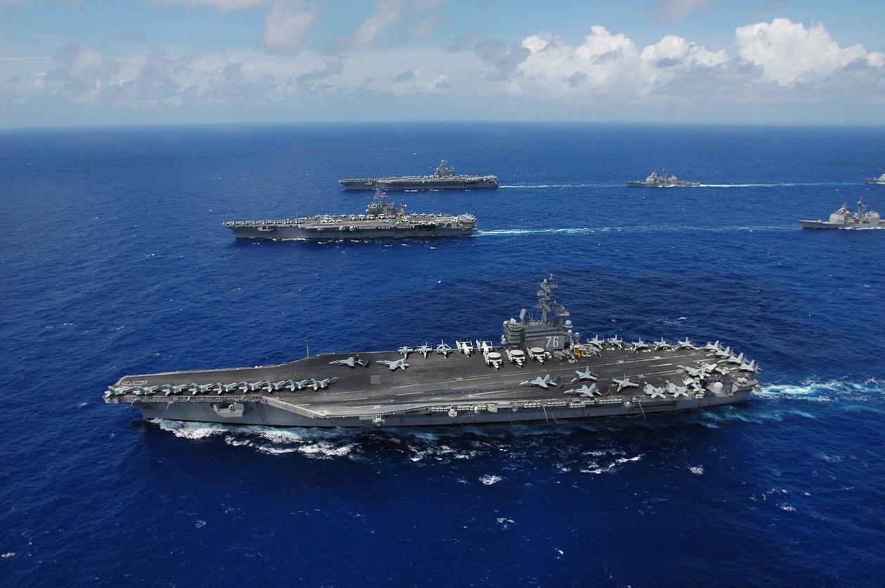 美媒:美或用陆基导弹替代航母抗衡中国