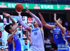 CBA联赛季后赛:北京首钢队晋级四强