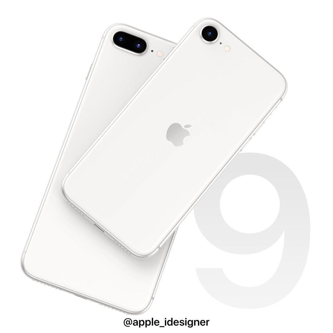2020年款iPhoneSE即将发布:红、白、黑三配色