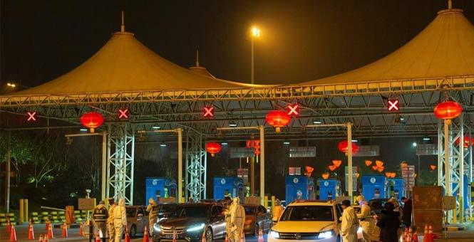 中国各地保障交通运输服务 防控春运返程疫情