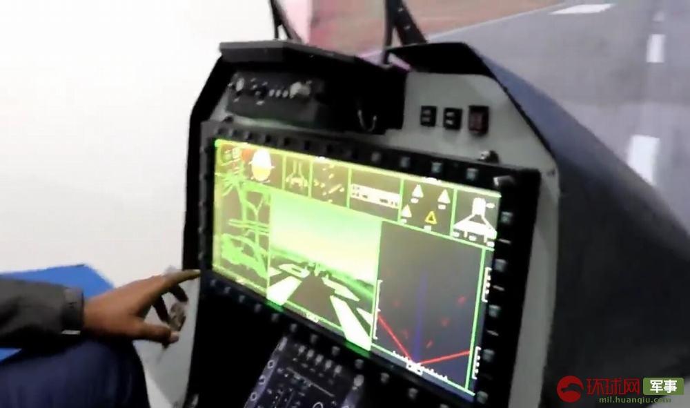 """印度""""光辉""""MK2战机座舱曝光先进程度堪比F-35"""
