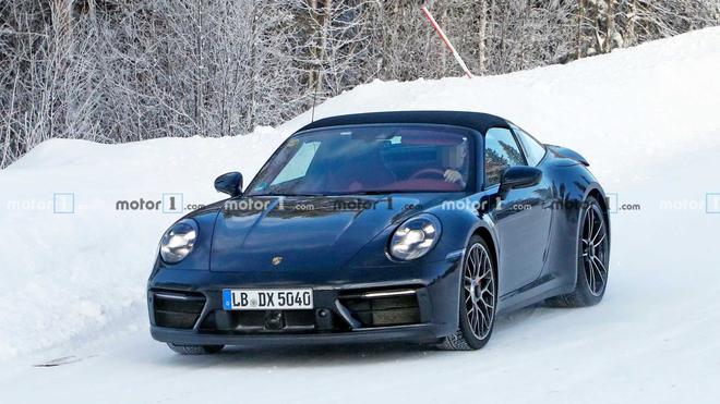 2020日内瓦车展全新保时捷911TargaGTS