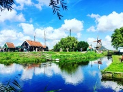 荷兰风车村,这里是童话世界
