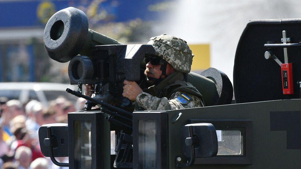 """美制""""标枪""""导弹在乌克兰军演中""""哑火"""" 今年6月刚到货"""