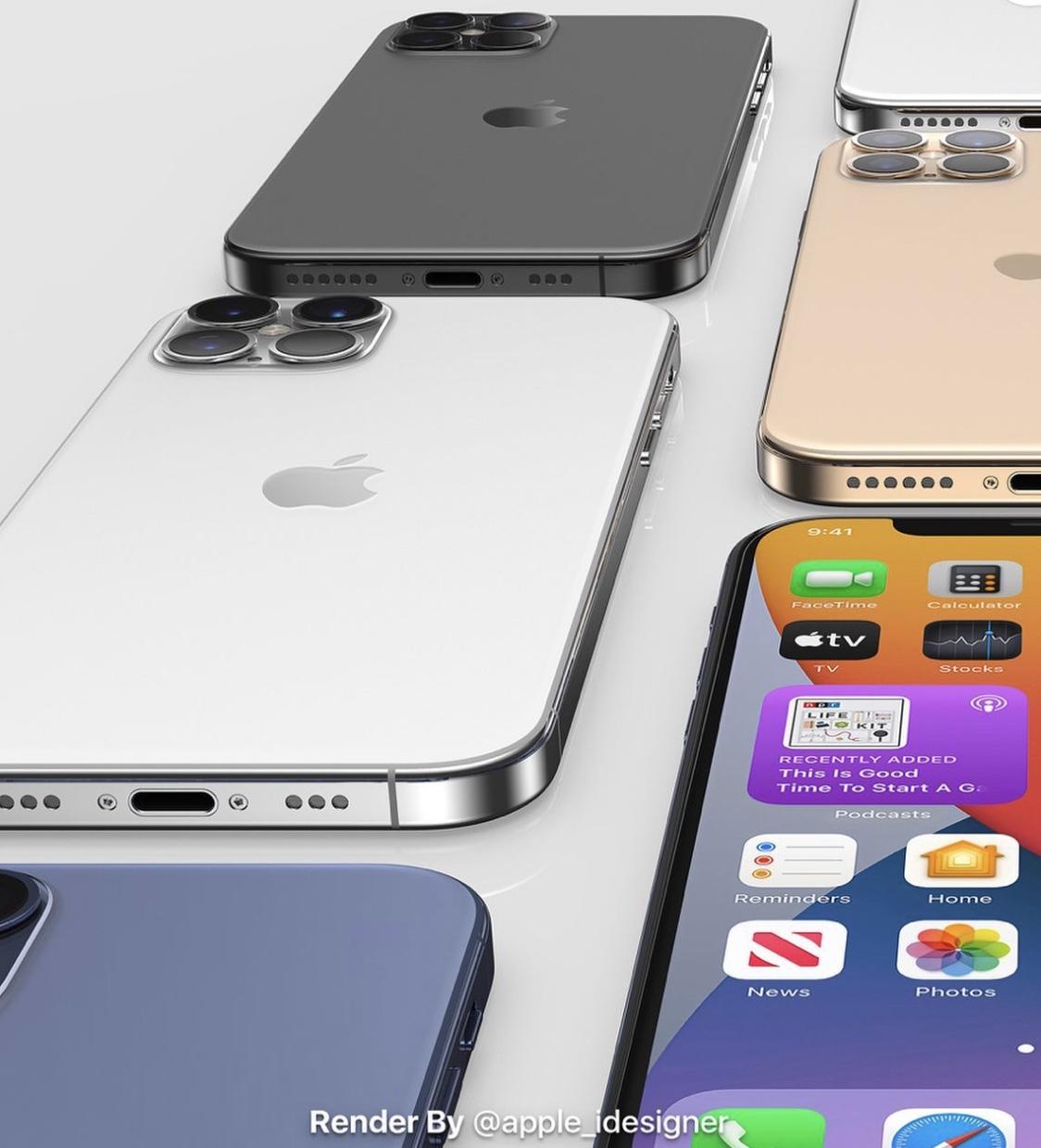 iPhone12系列最新消息:或配120Hz高刷屏、不附送耳机