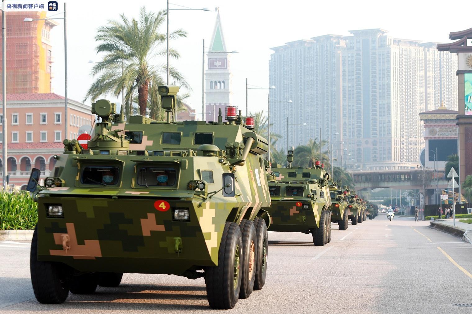 解放军驻澳门部队第二十一次建制单位轮换工作顺利完成