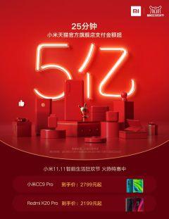 2小时成交金额超27亿,智能生活领先者小米取得双11开门红