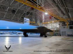 美国空军高调晒图B-21隐身轰炸机更多细节曝光