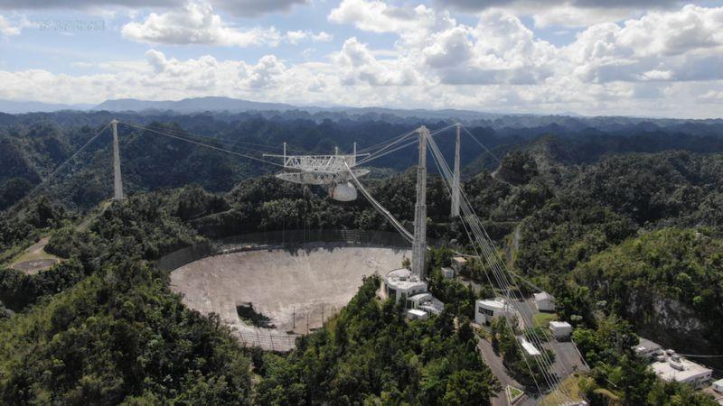 usdt支付(caibao.it):美国阿雷西博天文台一夜之间坍毁 数月前设计拆除 第2张