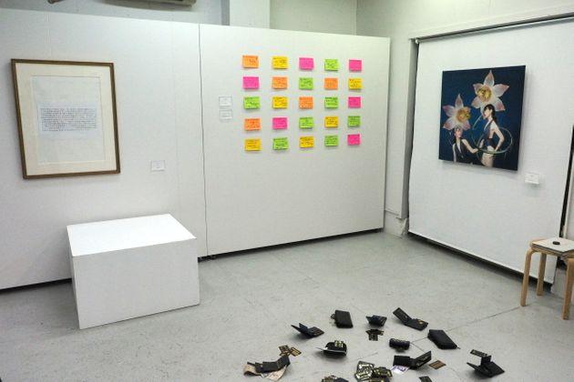 """欧博app:日本举行""""可以偷的艺术展"""" 还没开场作品就被偷光了 第2张"""