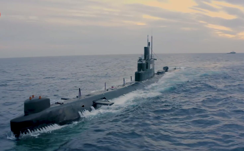 埃及海军演习出动中国造潜艇发射美制潜射导弹