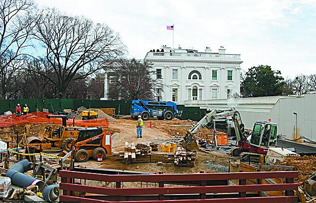 """防总统及政府要员被""""团灭"""":揭秘白宫在地下挖了多少神秘掩体"""