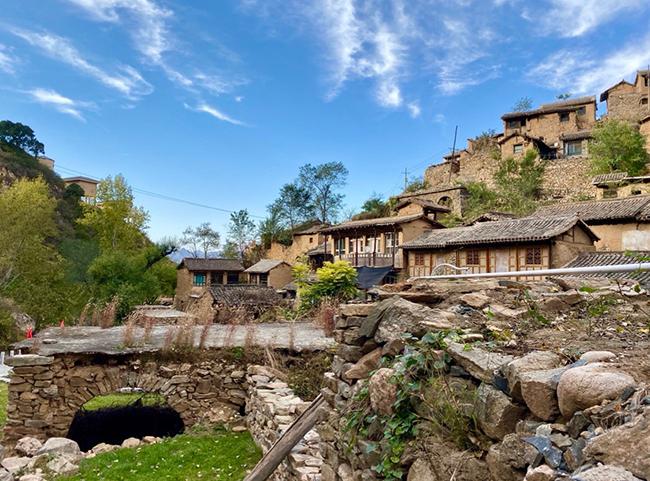 大汖古村:距今千年的安静古村