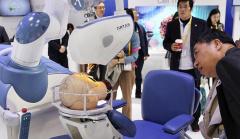 2019进博会:植发手术辅助机器人首次亮相进博会