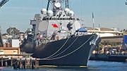 靠它来拦截反舰导弹?美军驱逐舰疑似加装激光炮